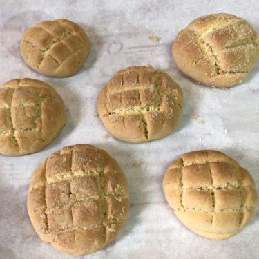 薄力粉で簡単メロンパンを親子で作ろう♪フライパンで作るコツやポイントについても!