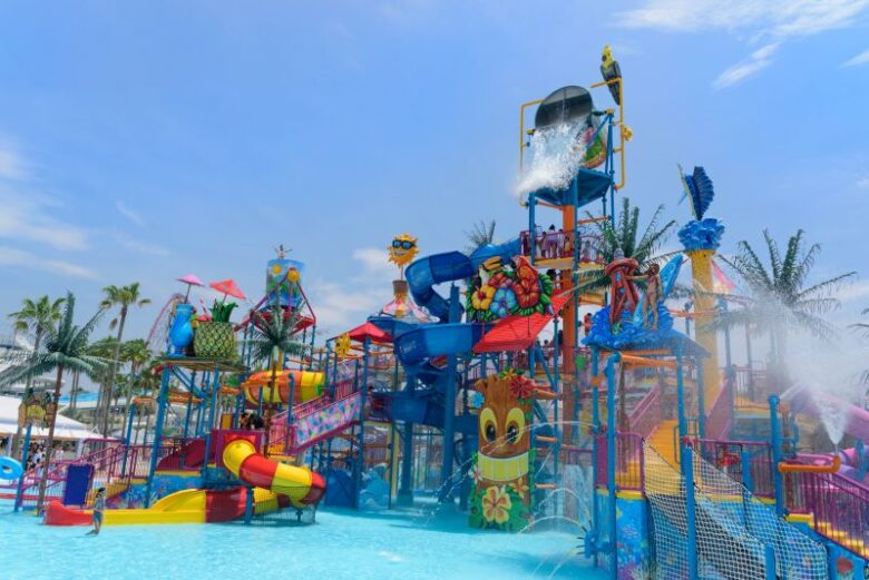 【長島ジャンボ海水プール】2020年7月4日オープン!日本最大超巨大要寒!水のジャングルジムで夏を楽しもう!