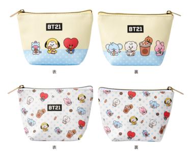 BT21【ファミマ限定】オリジナルグッズが3/29より発売!取扱店舗についても!